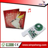 voice recorder chip for greeting cards /voice chip for greeting card