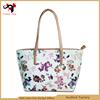 New wholesale exquisite digital print fashion PU women travel bag