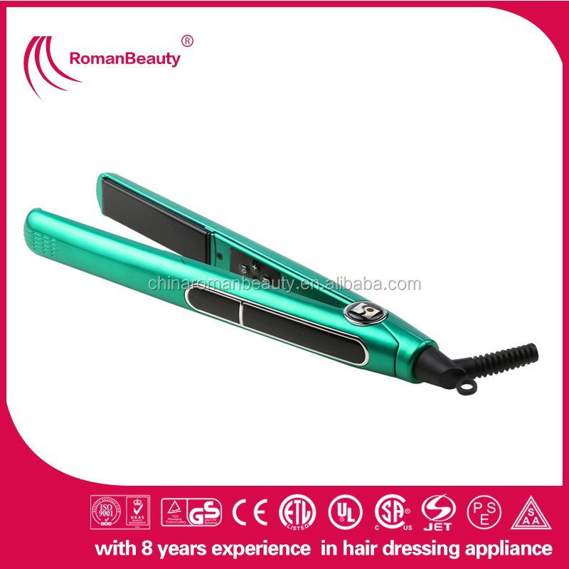 2015 NEW design flat iron water transfer printing hair straighteners ...