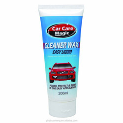 high purity cleaner wax easy liquid for car polish and protect