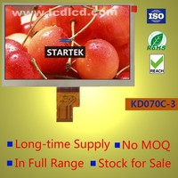 1024x600 TFT LCD module 7 inch display with 40pin LVDS interface
