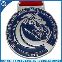 2015 art and craft free sample cut-out metal custom wholesale medals
