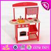 2015 Pretend Kitchen Toy Play Kitchen Set,DIY Wooden kitchen furniture toy set,Hot toys kids kitchen play set on sale W10C143B