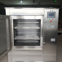 SUS304/201 With CE approved tea leaves microwave drying machine