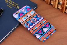 For iPhone 6 4.7 inch Tribal Aztec Bohemia Stripe Lines Plastic Case
