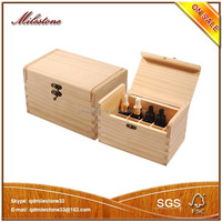 China Custom Wooden Essential Oil Bottle Storage Boxes for Gifts Packaging