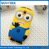 for galaxy note3 case despicable me 2 minions, silicone case for samsung galaxy note 3