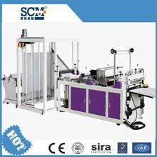 Full automatic high speed biodegradable plastic bag making machine for plastic film, PE, BOPP, OPP, PVC