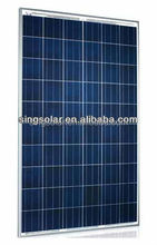 poly 230Watt flexible solar panel in china