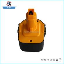 12V 1500mAh Ni-CD Rechargeable Power Tool Battery for Dewalt Replacement DC9091 DE9091 DW9091 DE9038 DE9092 DE9094 DE9502