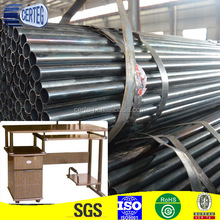 high quality computer desk round steel tube
