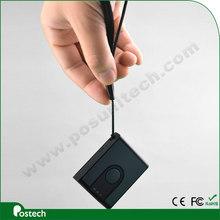 Buena calidad CCD escáner móvil escáner de código de barras con el apoyo del guante códigos de barras rugosas