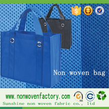 cycle fabric raw material for PP non woven women's shopping travelling bag