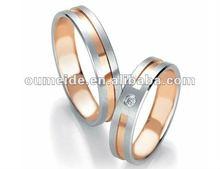 OEM/ODM Metal Ring Factory 2012 Wedding Skull Titanium Ring