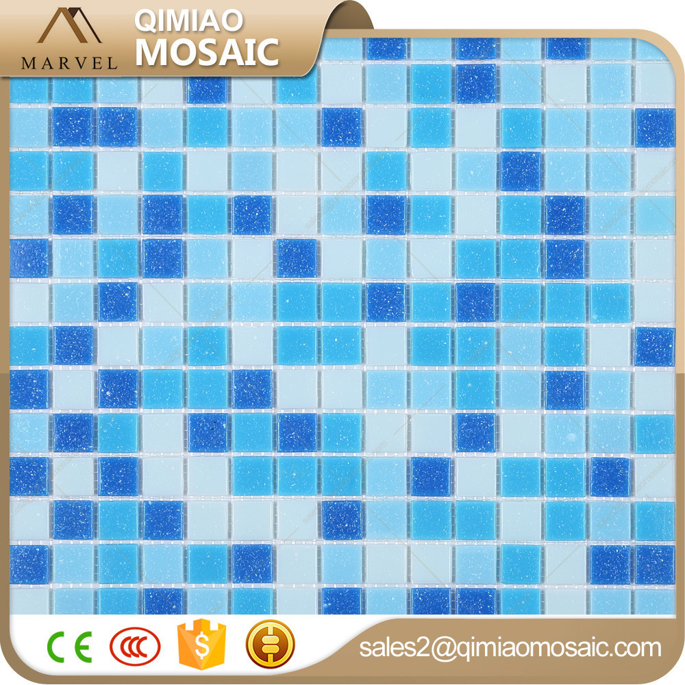 Building construction materials list blue glass mosaics for swimming pool buy blue glass for Swimming pool construction materials