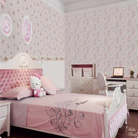 cartoon non woven wallpaper for children/kids/cheap wallpaper/china wallpaper--BALABALA