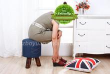 modern upholstered ottoman/pedicure chair