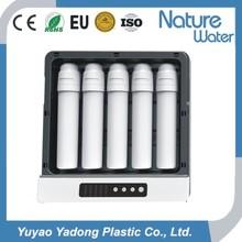 5 etapa purificador de agua doméstica RO con la caja