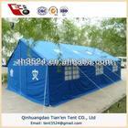 Desastre alívio tenda tenda de refugiados