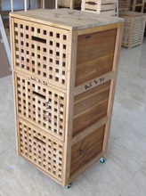 Chinese style wooden series product grid furniture