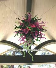 Modern Glass Chandelier Chinese Wedding Decorations
