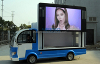 top quality LED screen electric car from China factory