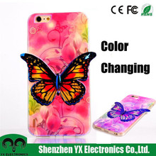 Girls fashion 3d pattern phone case for iphone 6 plus case