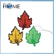 New Product Maple Leaf Car Custom Paper Air Fresheners