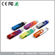 Cheap 1gb 2gb 4gb 8gb 16gb 32gb swivel usb drive with custom logo for promotion