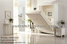 no MOQ folding wall bed custom made unique delux style Queen size for Hospital