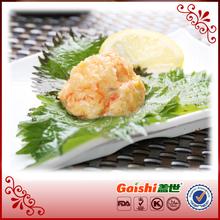 High Quality Japanese Sushi Frozen Seasoned Crawfish Salad Halal China Wholesale Manufacturer