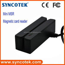 Tracks 1/2/3 magnetic strip reader usb msr