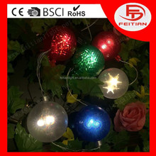 battery controlled ball 8 functions light CE ROHS GS certificated and new designed popular led home decoration light