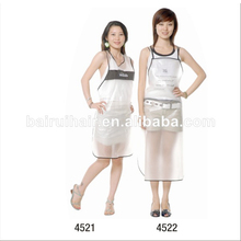 wholesale kitchen plastic barber salon apron