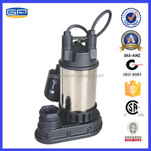 Stainless Steel / Cast Iron submersible pump with CSA certification