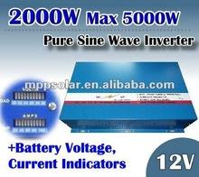 2000w 12v Pure Sine Wave inverter power 12v inverter