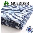 32s*32s+40d 97 3 de algodón del spandex tela impresa del satén para pantalones de verano