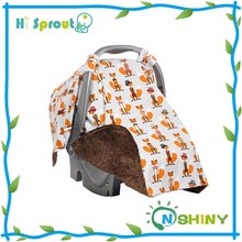 Fox Design and Multi-uses Infant Carseat Summer Sunshade