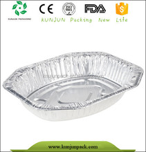 First class alu food tray packaging