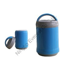Hot ! 1.2 L Plastic Lunch box Thermos for travell