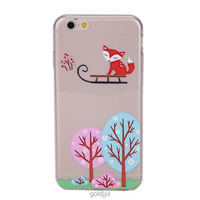 design transparent custom tpu mobile phone case
