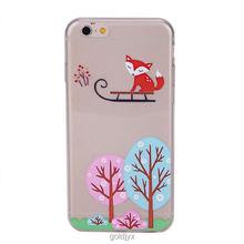 design transparent custom tpu mobile phone case
