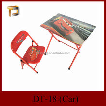 DT-18 high quality cheap price study used folding children desk