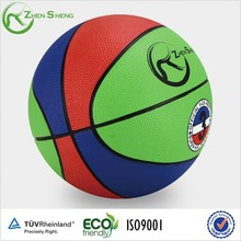 Zhensheng Custom Rubber Basketball Ball Colored Basket Balls