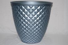 New style diamond Indoor&Outdoor PE colorful Gardening Plastic Flower Pot Indoor&Outdoor