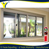 aluminum grill glass sliding window design AS2047 aluminum glass door and window frame Made in China
