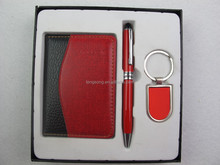 notebook keychain metal ball-point pen sets TS-p00423
