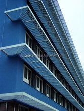 Building sun shade aluminum louvers