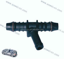 1 to 2 Y Shaped Pass fuel Quick Coupling Connector