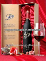 Single bottle of red wine box, 2014 the latest red wine packaging
